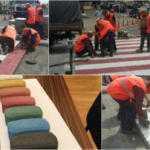 Киевавтодор начал строить долговечные «зебры»