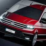 Новое поколение Volkswagen Crafter на скетчах