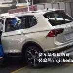 7-местный Volkswagen Tiguan на шпионских фото