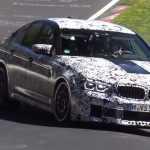 Видео: тестирование нового 2018 BMW M5 на Нюрбургринге