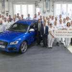 С конвейера в Ингольштадте сошёл миллионный Audi Q5