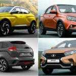 АвтоВАЗ показал шесть новых концептов и новые версии модели Vesta