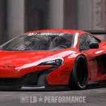 McLaren 650S получил агрессивный боди-кит Liberty Walk