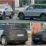 VW Tiguan XL и новый Touareg замечены на испытаниях