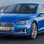 Новые 2017 Audi A5 и S5 Sportback были показаны перед Парижским автосалоном