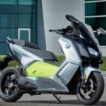 BMW разрабатывает электрический скутер C Evolution с батареями от i3