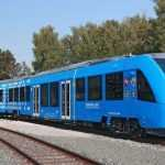 Показан первый в мире водородный поезд