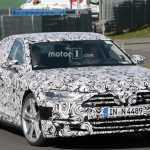 2019 Audi S8 первые фотографии в камуфляже
