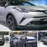 2017 Toyota C-HR, первый обзор нового кроссовера