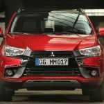Рестайлинговая 2017 Mitsubishi ASX в Париже