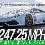 2500-сильный Lamborghini Huracan ставит рекорд
