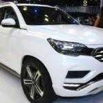 SsangYong показал дизайн Rexton 2018