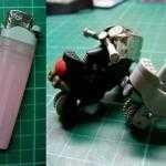 Как сделать из зажигалки игрушечный мотоцикл?