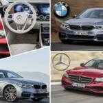 Визуальное сравнение: новый BMW 5-Series против Mercedes-Benz E-Class