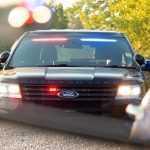 Полицейский Ford оснастили незаметными «мигалками» (видео)
