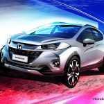 Honda приоткрыла недорогую пятидверку WR-V