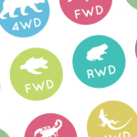 Необычная инфографика: Заднеприводные, переднеприводные и полноприводные животные