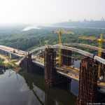 Открытие моста на Троещину перенесли на 2019 год