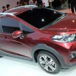 Honda представила новый кроссовер WR-V
