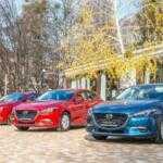 В Украине представлены обновленные Mazda3 и Mazda6 — фоторепортаж