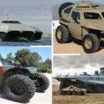 Военная техника: 20 самых удивительных транспортных средств