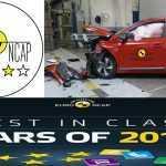 Euro NCAP составил рейтинг самых безопасных автомобилей в 2016 году
