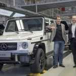Mercedes-Benz выпустил рекордное количество внедорожников G-Class