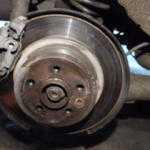 Как заменить ступицу заднего колеса на Rover 75