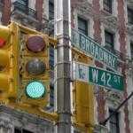 Таксист проехал 240 «зелёных» светофоров подряд и записал это на видео