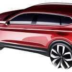Volkswagen представит в Детройте удлиненный Tiguan