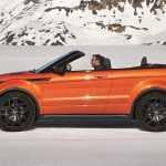 В Украине стартовали продажи кабриолета Range Rover Evoque