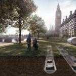 Британские архитекторы отправят электромобили в подземные тоннели