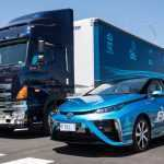 Toyota построила водородную заправку на базе дизельного грузовика