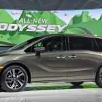 Детройт 2017: Honda представила минивэн с 10-ступенчатым «автоматом»
