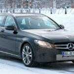 Первые фотографии обновленного универсала Mercedes-Benz C-Class