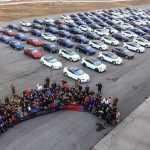 Владельцы Tesla в Китае установили мировой рекорд