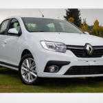 Свежие фото обновленного Renault Logan