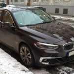 Седан BMW 1 серии впервые замечен в Европе