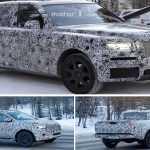 Mercedes X-Class и Rolls-Royce Cullinan проходят испытания дорогой