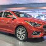 Американский Hyundai Accent 2018 получил шесть подушек безопасности в «базе»
