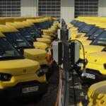«Укрпочта» начнет использовать электромобили для курьерской доставки