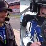 Марк Цукерберг прокатился за рулем гоночного болида NASCAR