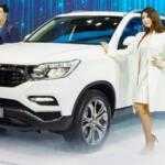 Новый SsangYong G4 Rexton: фотографии и характеристики