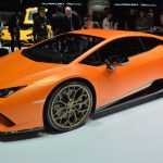 Купе Huracan Perfomante получило мощнейший двигатель V10 Lamborghini