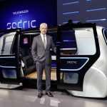 Женева 2017: Volkswagen показал маршрутку без руля и педалей