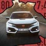 Какие спортивные модели обогнали Honda Civic Type R на Нюрбургринге?