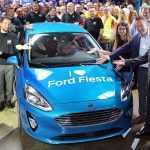 Стартовал серийный выпуск Fiesta нового поколения