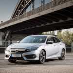 Honda представила европейскую версию седана Civic