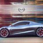 Независимый дизайнер предложил концепт футуристического Opel Tigra