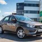 Газовая Lada Vesta CNG: АВТОВАЗ начал серийный выпуск